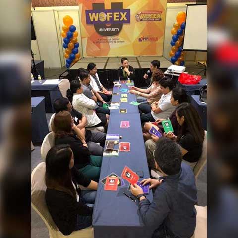 John Maxwell Team Leadership Game Personal Leadership Development learning session WOFEX University in SMX Davao August 22