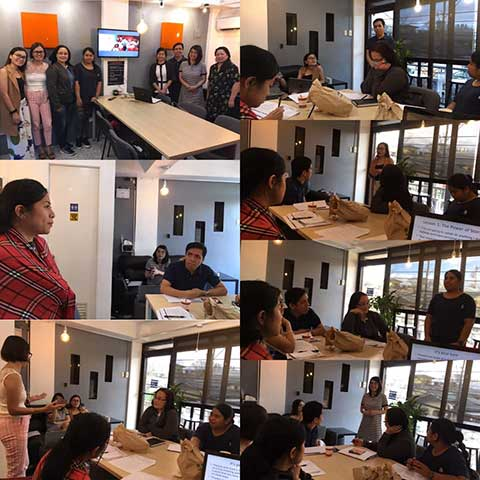 Maxwell Speakers Club face to face meeting this year took place in Dasmarinas Cavite last January 26