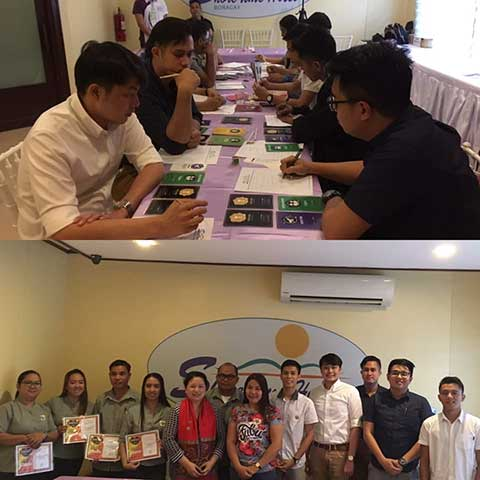 Personal Leadership Development learning session at WOFEX Boracay last February 19