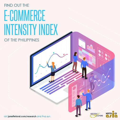 ECommerce Intensity Index Philippines