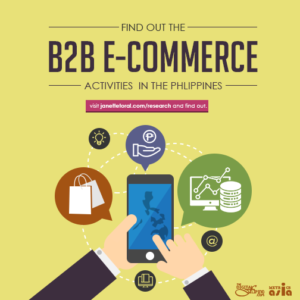 Find out B2B ECommerce Activities in the Philippines