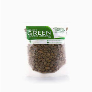 Organic Arabica Green Coffee (Whole Beans)