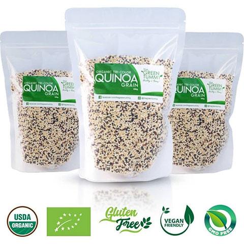 Organic Tri Color Quinoa